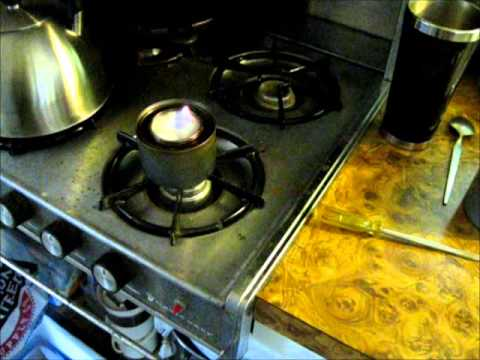 Simple Dollar Store DIY Alcohol Stove And Heater