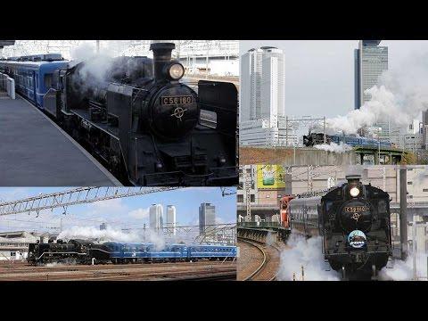あおなみ線 蒸気機関車の実験運行