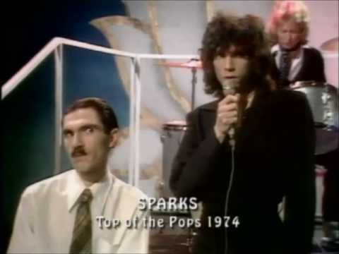 Sparks - This Town Ain't Big Enough For Both Of Us (totp 1974) video