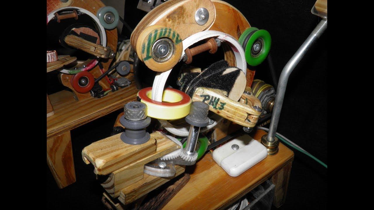 toroidal winder machine