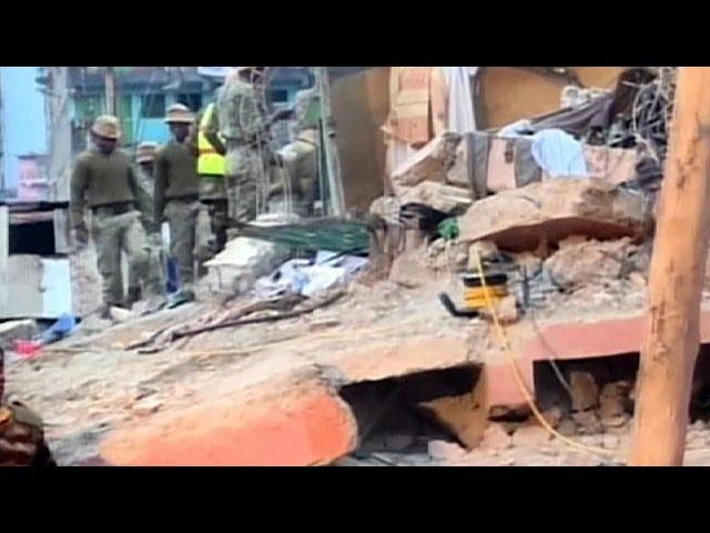فرو ریختن ساختمان در پایتخت کنیا ۷ کشته و ۱۲۰ مجروح به جا گذاشت
