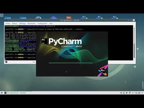 Programmer en Python avec PyCharm
