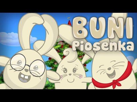 PIOSENKA BUNI - Tytułowa Piosenka Dla Dzieci Z Serialu Buni.
