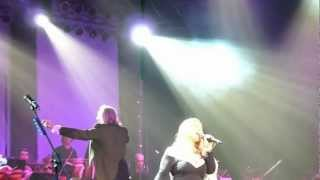 Rock Meets Classic 2013 Essen 24-2-2013 Amanda Somerville Total Eclipse of the Heart