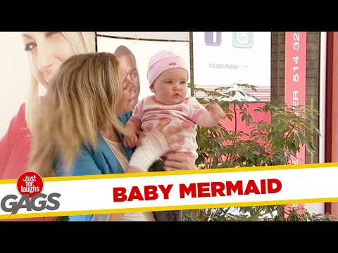 My Baby Is A Merman Prank