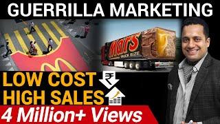 High Sales Through Low Cost Marketing | GUERRILLA MARKETING | DR VIVEK BINDRA |