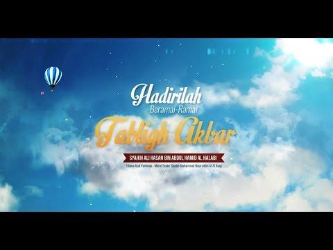 Info Tabligh Akbar - Syaikh Ali Hasan Bin Abdul Hamid Al Halabi
