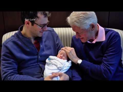 Chelsea Clinton Baby Photos