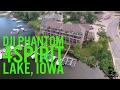 DJI Phantom 4 Flight over Lake Spirit Lake Iowa