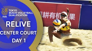 FIVB Tokyo Beach Volleyball Qualification 2019 Center Court Day 1 LIVE