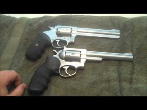 RUGER SECURITY SIX  VS. ROSSI