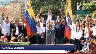 Así se juramento Juan Guaidó como presiente de transición de Venezuela - 23 de Enero 2019