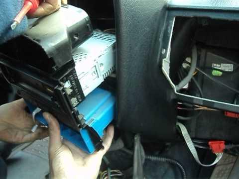 VW-B4 замена радиатора печки-2