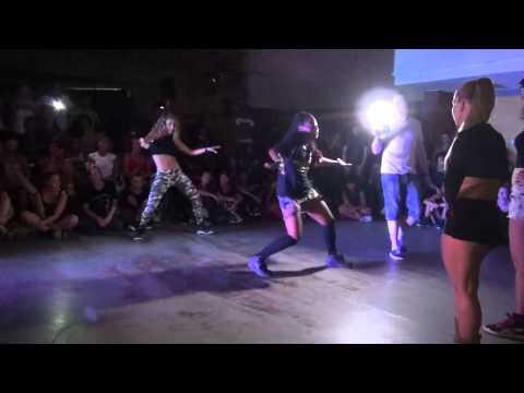 Dancehall battle BigUp Kemp 2*2 Gaika&Kaya vs French team(win)
