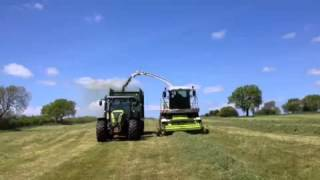 New Claas 870 speedstar and arion 640