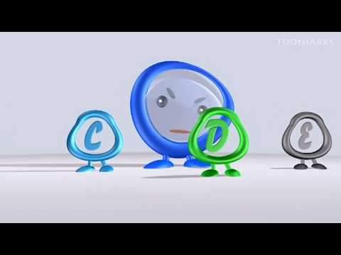 English | Alphabets | 3d Alphabets | Abcd For Kids video