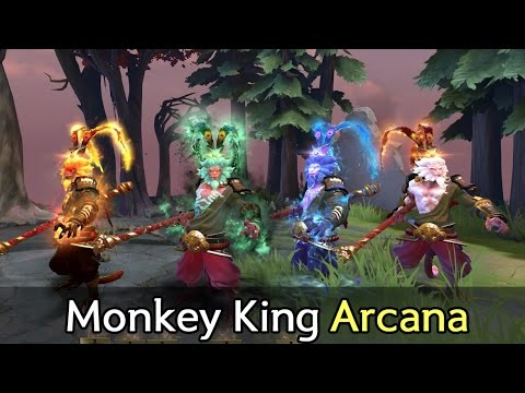 Monkey King Arcana and hero preview