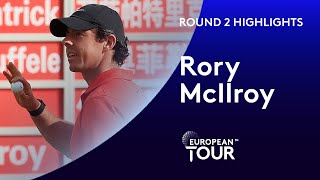 Rory McIlroy moves up to second | Round 2 | 2019 WGC-HSBC Champions