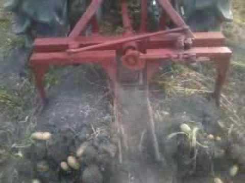 Самодельные картофелекопалка 2 рядная