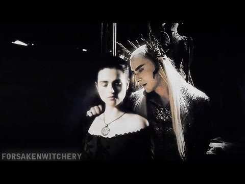 » everybody wants to rule the world (thranduil x morgana x legolas)