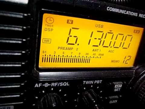 6130kHz Lao National Radio Closing received in Japan : IC-R75