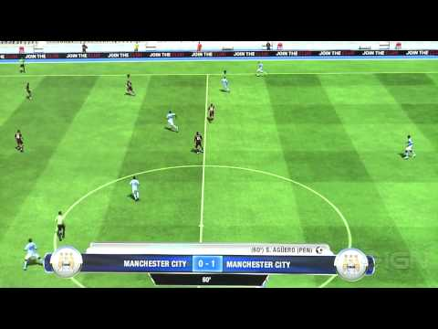 FIFA 13 Off-Screen Gameplay 1 - Gamescom 2012