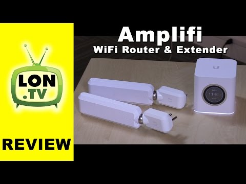AmpliFi Router and Wireless Wifi Extender Review - Simple mesh wireless from Ubiquiti networks