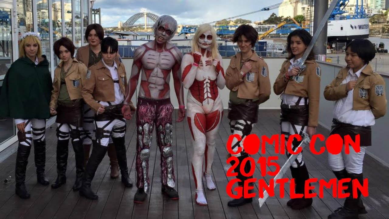 Characters From The Anime Attack On Titan If Youre Not Familiar Trust Me These Costumes Are AWESOME