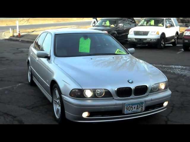 2002 BMW 540i, 4 door, SPORT PACKAGE, 4.4 liter V8, Navigation, ALL OPTIOINS, warranty!!!