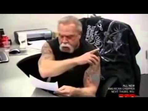 Greek Parody American Chopper