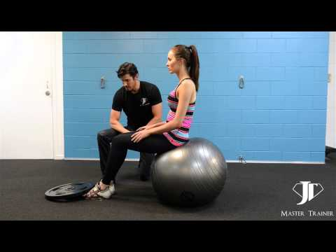 JT Daily Training Tips  - Swiss Ball Crunches