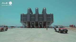 World's largest evaporator load-in, Saudi Arabia