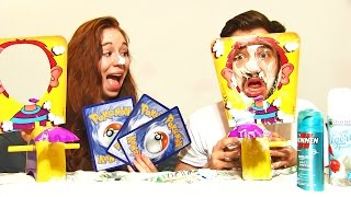 PIE FACE CHALLENGE PRANK POKEMON !! Une EXPLOSION DE CHANTILLY !