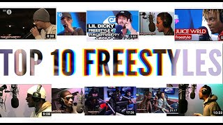 Top 10 Freestyles - Eminem, Lil Dicky, Kid Cudi, Juice WRLD, Skepta, Snoop Dogg, Migos...