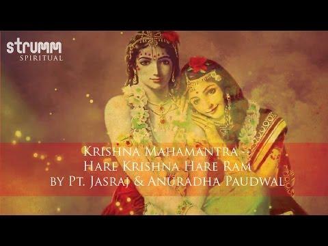 Krishna Mahamantra -- Hare Krishna Hare Ram By Pt. Jasraj & Anuradha Paudwal video