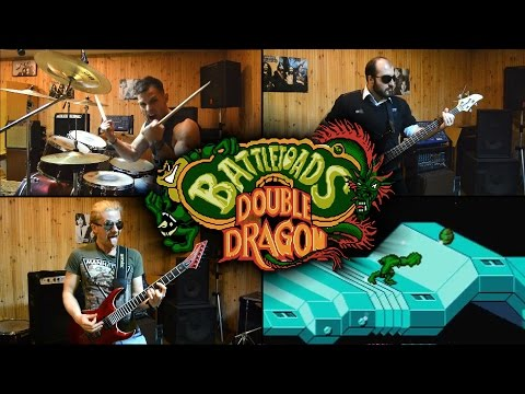 Battletoads & Double Dragon NES - level 1 (cover by Eflavia)