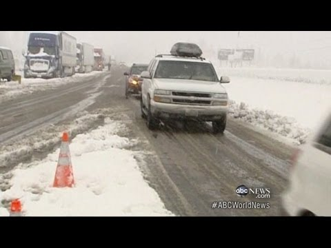 Christmas Storm Threatens Holiday Travel