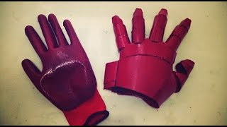 #90: Iron Man Hand Part 2 - Make it Wearable | Costume Prop How to DIY