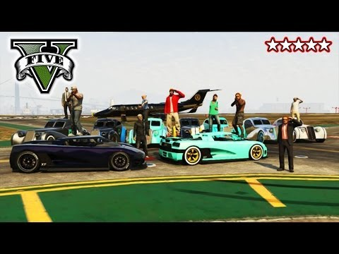 GTA 5 VIP ESCORT!!! - FreeRoaming With The CREW! - Grand Theft Auto 5 Tanks and Helicopter