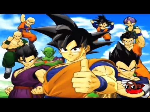 Dragon Ball Z - video game History - Openings/ Intros 1991-2011 in HD