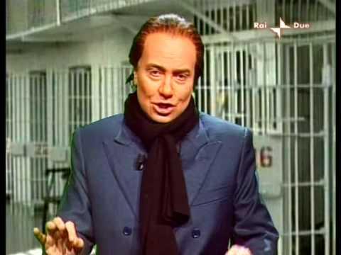 Berlusconi in diretta dal carcere – Sabina Guzzanti – Annozero