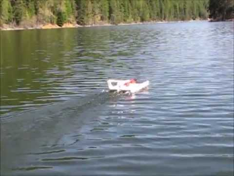 Flying the Hydroplane  Hydroglider  Hydrofoam