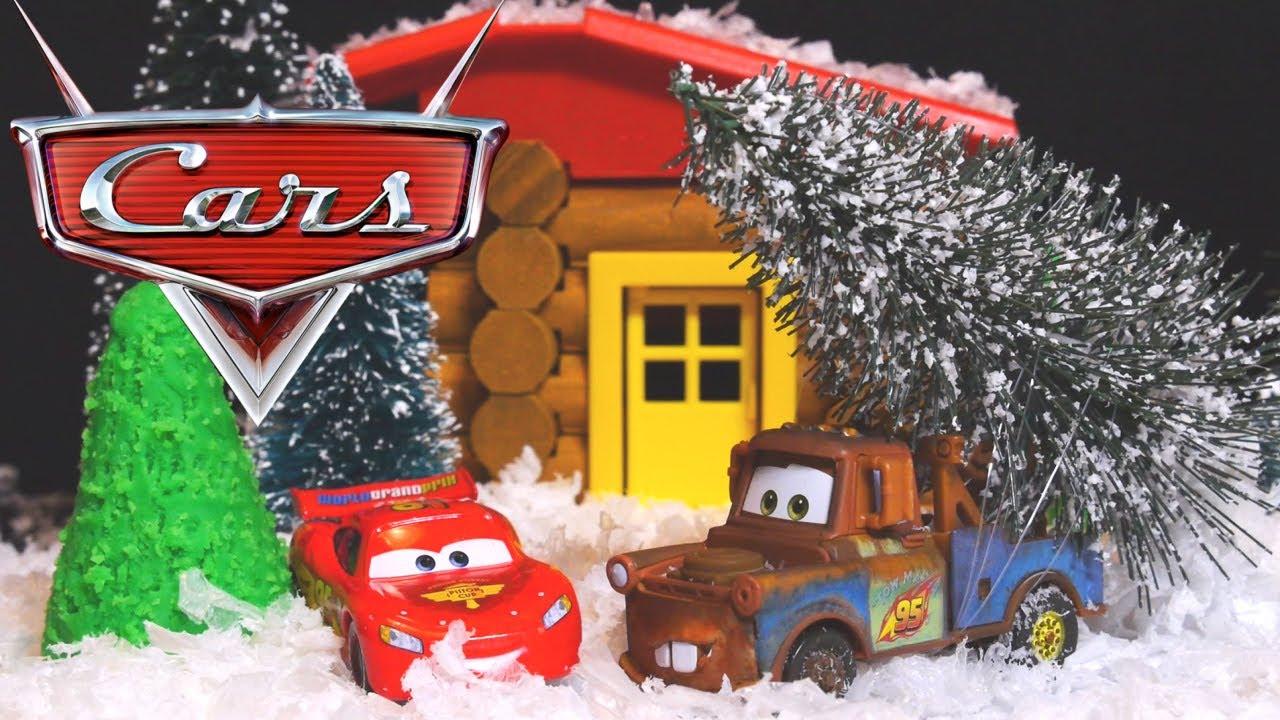 Disney Pixar Cars Christmas Vacation Episode 1 Play Doh