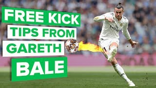 Gareth Bale's tips for knuckleballs | Improve your football skills
