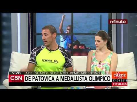 C5N - Deportes: Ariel Suarez, gloria del remo argentino