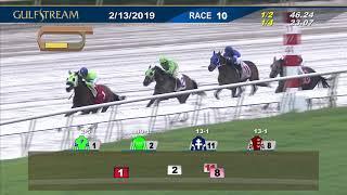Gulfstream Park February 13, 2019 Race 10
