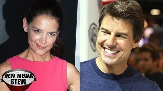 KATIE HOLMES Tweets about 'Real Man' as TOM CRUISE Faces Legal Battle