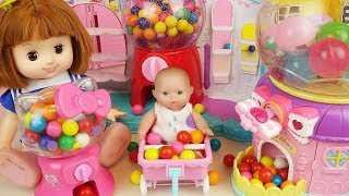 Baby doll surprise candy dispenser toys baby Doli play