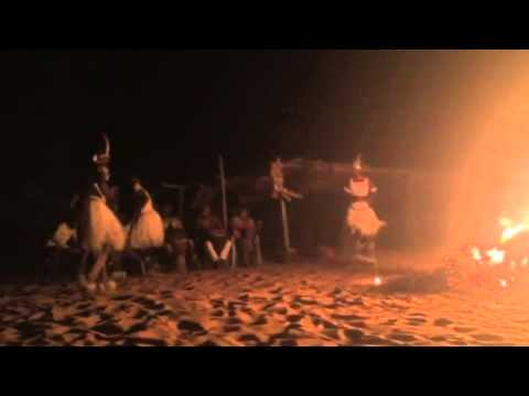 Exotic West African Christmas Beach Fire Dance thumbnail