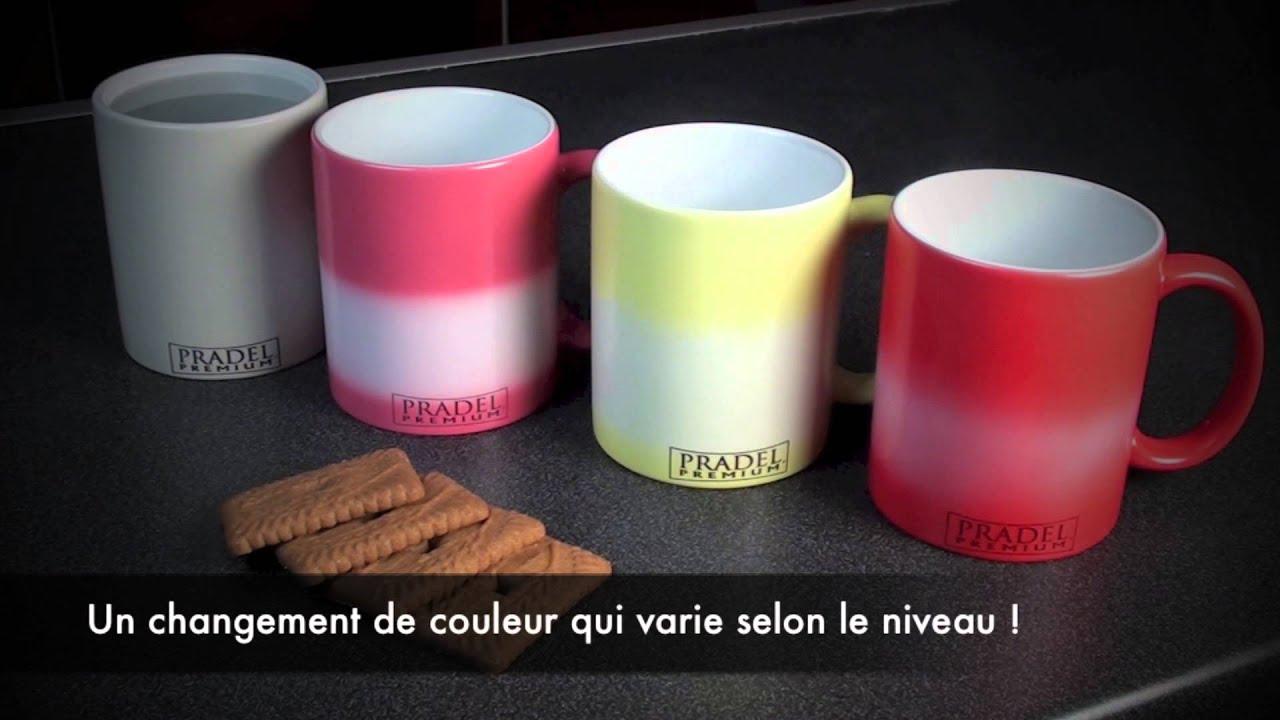 les mugs change color de pradel premium youtube. Black Bedroom Furniture Sets. Home Design Ideas